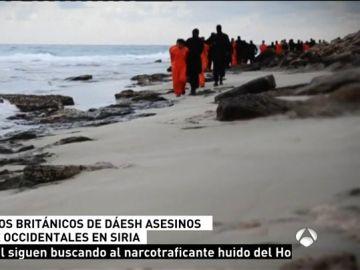 Capturados dos yihadistas británicos integrantes de Daesh