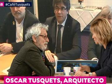 """Oscar Tusquets, sobre Cataluña: """"Es preocupante que amigos de toda la vida no estén dispuestos a cambiar de idea"""""""