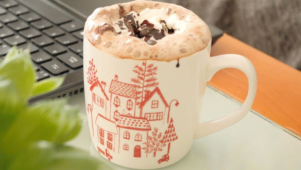 El chocolate caliente al estilo Starbucks, ¡ñam!
