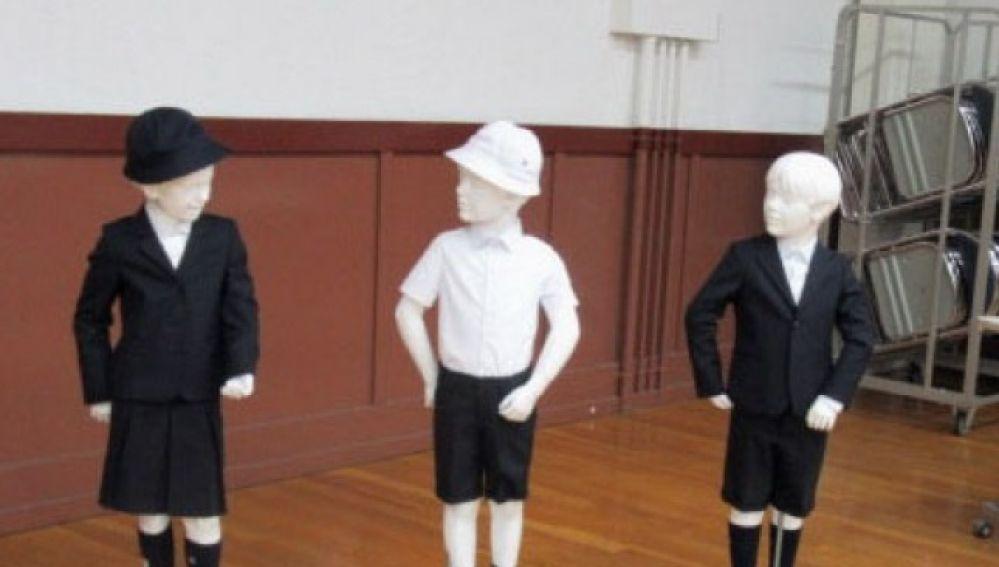 El uniforme de Armani