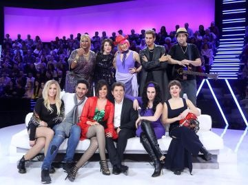 Los concursantes de 'Tu cara me suena' en la decimoséptima gala