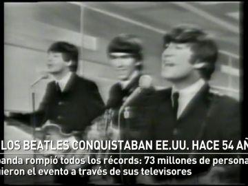 Los Beatles conquistaban EE.UU. en el Show de Ed Sullivan