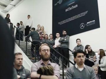 Saltan las alarmas en Mercedes: el escape del nuevo motor se rompe