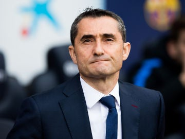 Valverde, durante el partido contra el Getafe