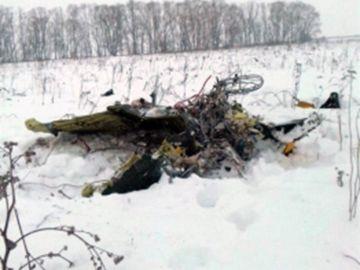 Accidente de avión en Rusia.