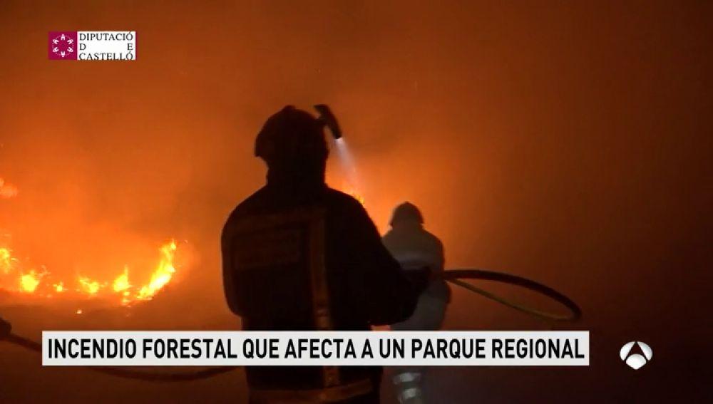 Antena 3 tv los bomberos logran controlar el incendio - El tiempo en torreblanca castellon ...