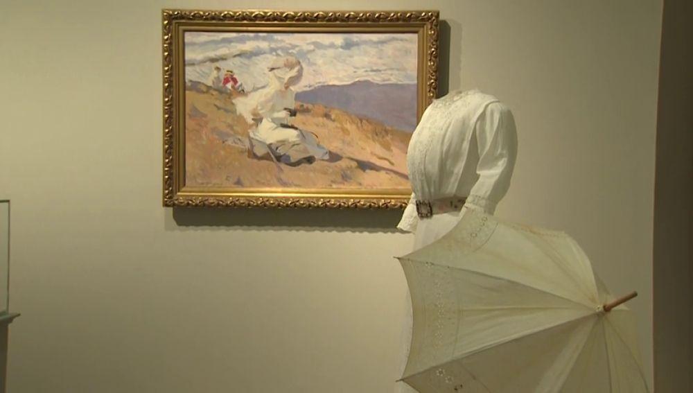 Sorolla viste a las mujeres de principios del siglo XX en una exposición que mezcla pintura y moda