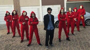 El traje de 'La casa de papel', el rey de los disfraces durante el Carnaval