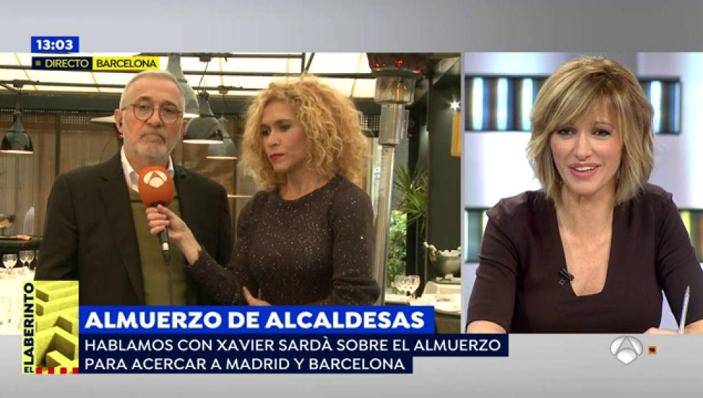 """Sardá se ha expresado sobre la situación en Cataluña: """"Tenemos que solucionar esto y tiene que ser sin escarnio""""."""