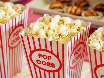 Las palomitas del cine están muy buenas, pero nuestro bocata de chorizo también.