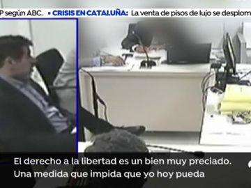 """Sànchez: """"Una medida que impida que pueda regresar a Barcelona no va a solucionar un problema que existe en Cataluña"""""""