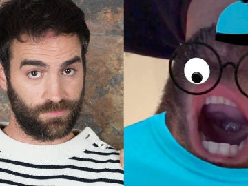 Jon Plazaola y su 'cabesadecoco' responden a la pregunta más esperada de 'Allí Abajo'