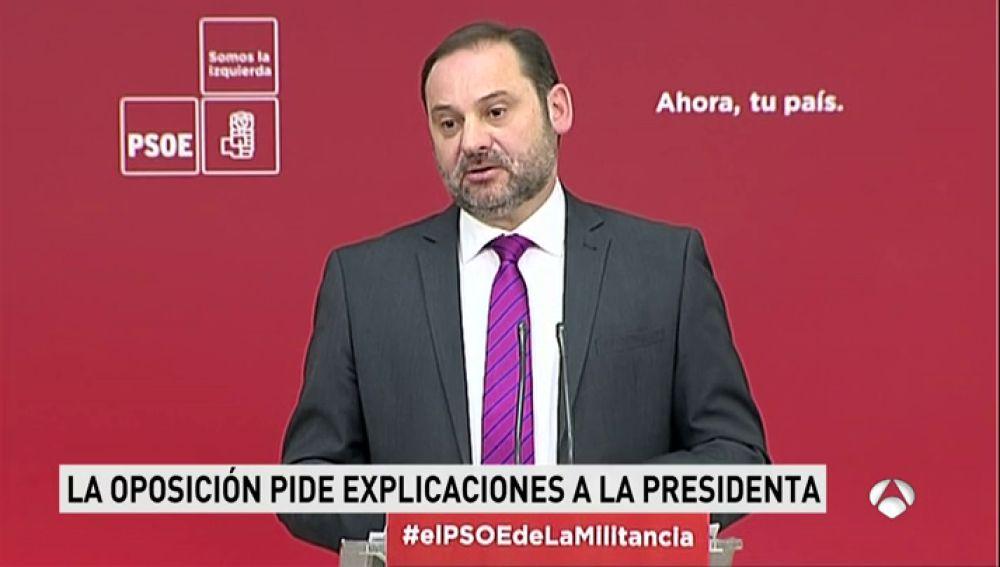 PSOE, Podemos y Ciudadanos piden la comparecencia de González, Aguirre y Cifuentes en la comisión de corrupción