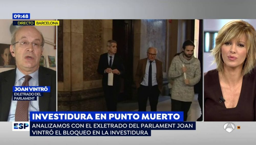"Joan Vintró, sobre Cataluña: ""Esta situación de bloqueo no era descartable"""