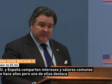 """EE.UU. y España trabajan por """"un mundo más seguro y próspero"""", dice el embajador de Trump"""