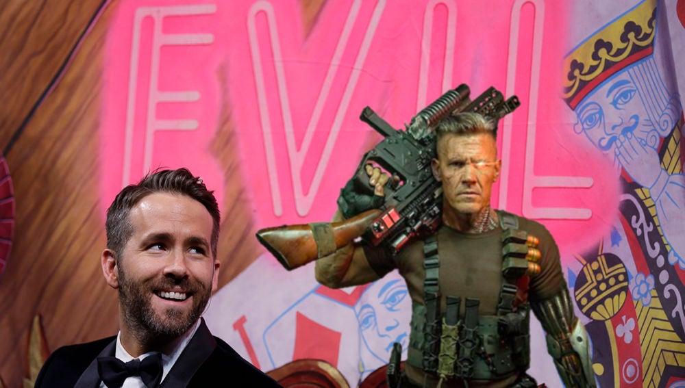 Ryan Reynolds vuelve a hacer de las suyas, y la víctima es Josh Brolin