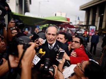El expresidente de Guatemala Álvaro Colom