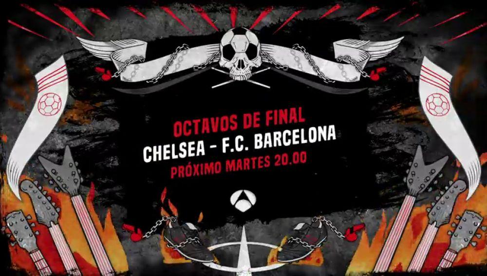 El Chelsea - Barcelona de Champions League se juega en Antena 3 y Atresplayer el 20 de febrero