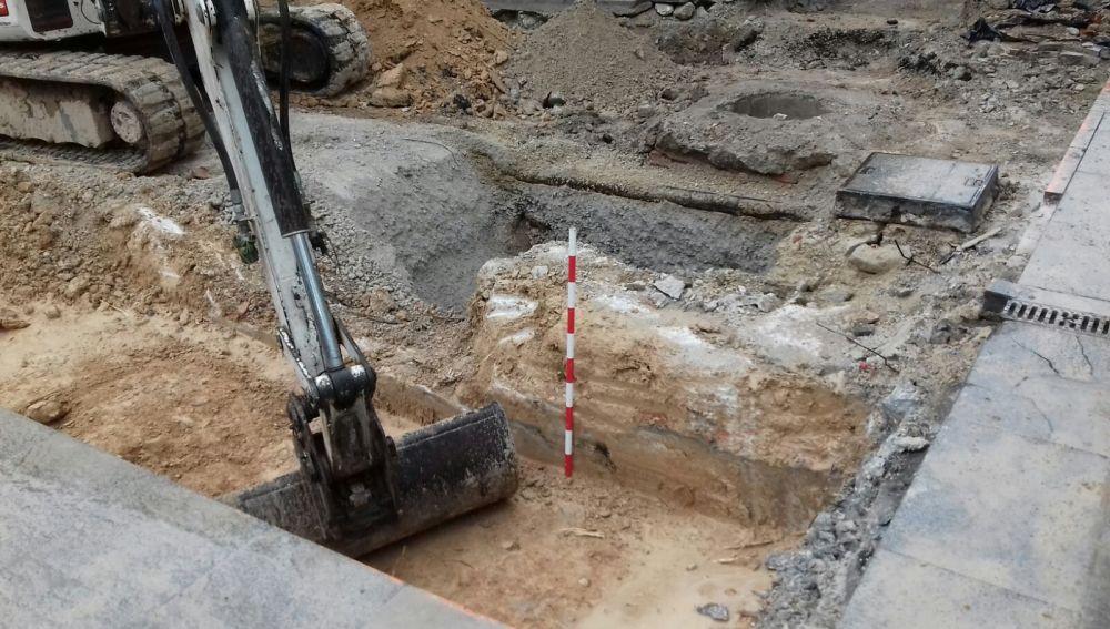Imagen de arvchivo de las excavaciones arqueológicas