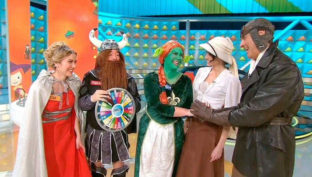 La ruleta de la suerte especial Carnaval