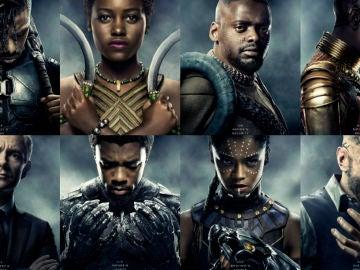 Los personajes de 'Black Panther'
