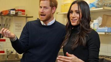 El príncipe Harry y Meghan Markle visitan Edimburgo