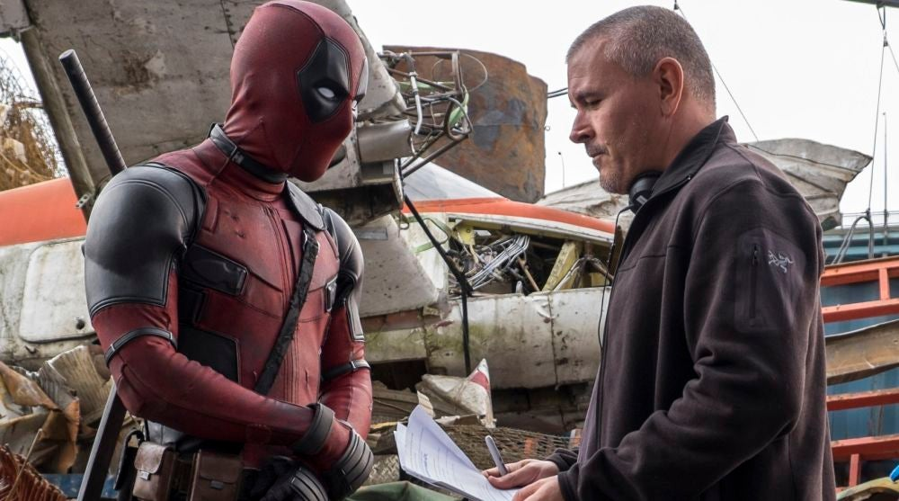 Tim Miller dirigiendo 'Deadpool'