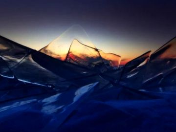 Un fotógrafo ruso aprovecha las bajas temperaturas para sacar la faceta más artística del hielo