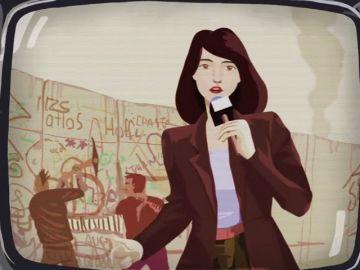 """La vocación periodística de Mónica Carrillo: """"Vi a una reportera contar la caída del muro de Berlín; yo quería ser como ella y saber qué sentía al contar al mundo algo tan importante"""""""