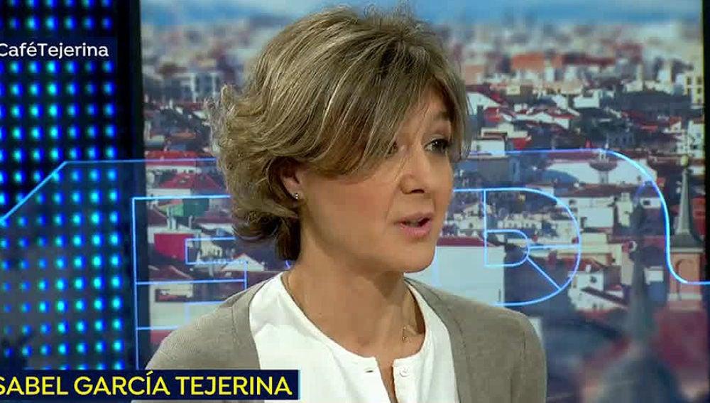 Isabel García Tejerina en Espejo Público