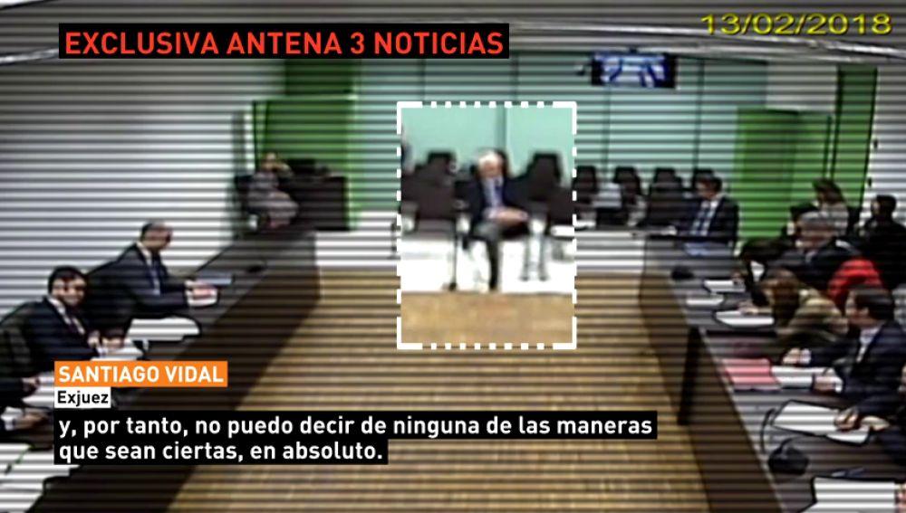 """El exjuez Santiago Vidal se desdice ante el juez y asegura que no había contrastado datos cuando hablaba sobre el """"procés"""""""