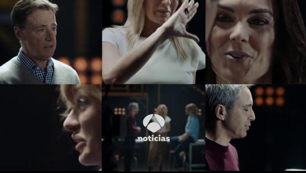 Vocación: la campaña de A3 Noticias que muestra por qué decidieron hacerse periodistas Vicente Vallés, Mónica Carrillo, Sandra Golpe, Matías Prats y Susanna Griso