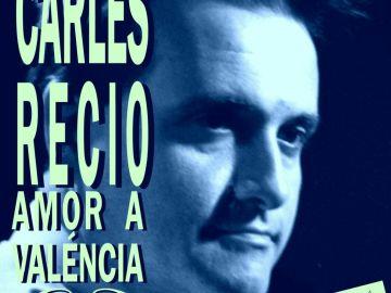 Cartel de la exposición de Carles Recio