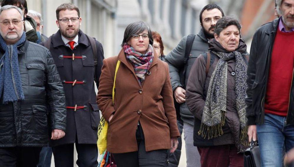 Mireia Boya llega al Tribunal Supremo