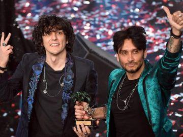 Ermal Meta y Fabrizio Moro representantes de Italia