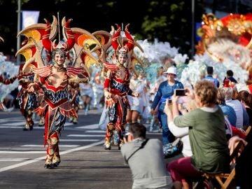 El tradicional Coso Apoteosis del Carnaval de Santa Cruz de Tenerife