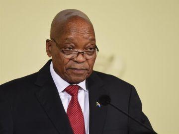 El presidente sudafricano, Jacob Zuma