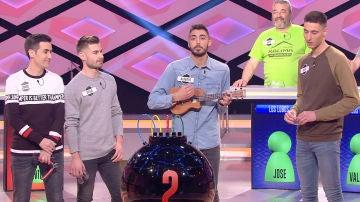 Alberto, el concursante de '¡Boom!' que toca el ukelele a la perfección