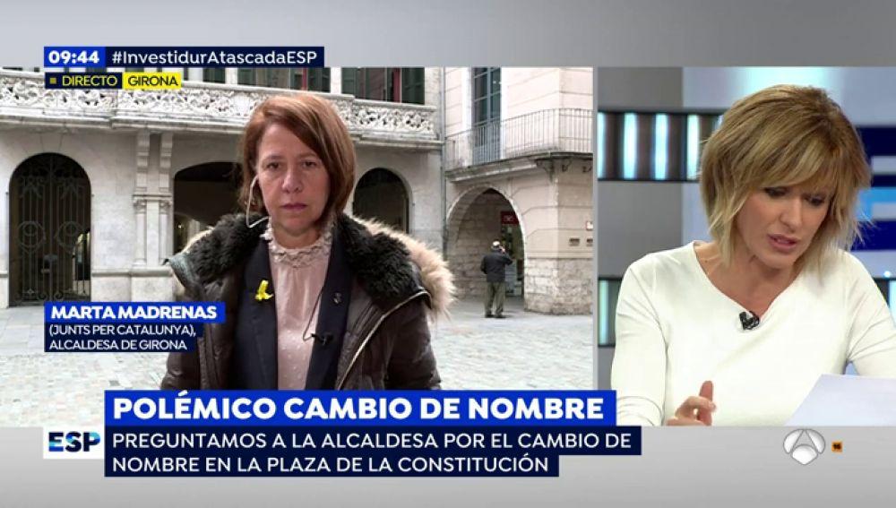 La alcaldesa de Girona