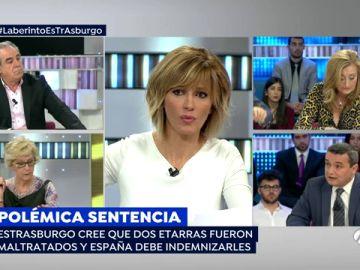 Estrasburgo condena a España a pagar 50.000 euros por maltratar a los etarras que atentaron en la T-4