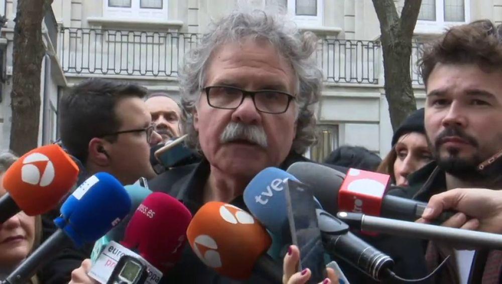Tardá asegura que habrá Govern y acuerdo entre las fuerzas independentistas