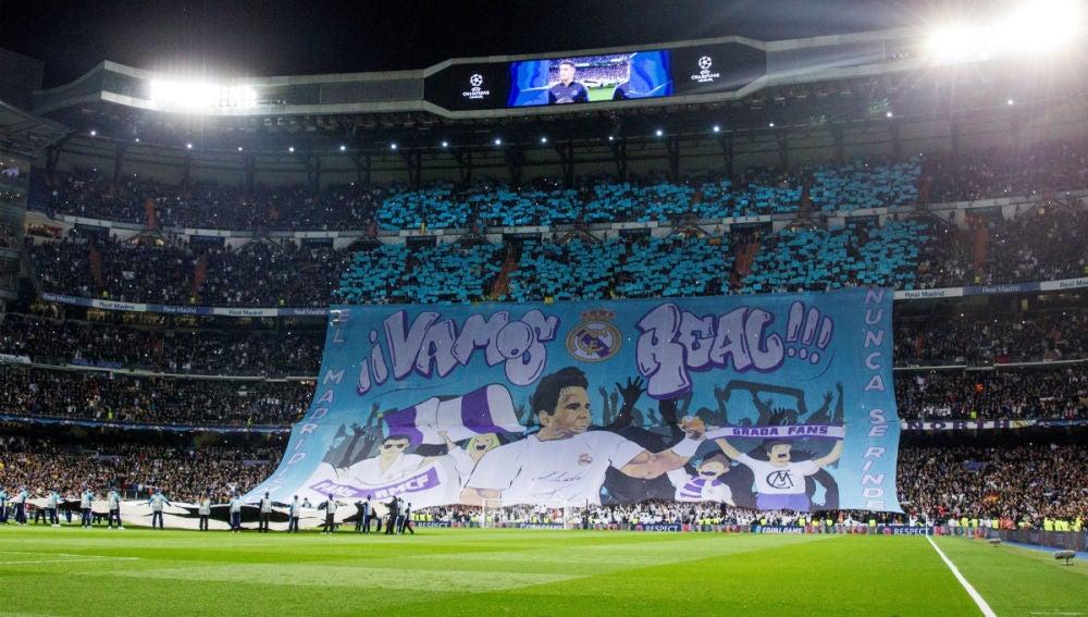 Nadal, en el mosaico del Bernabéu