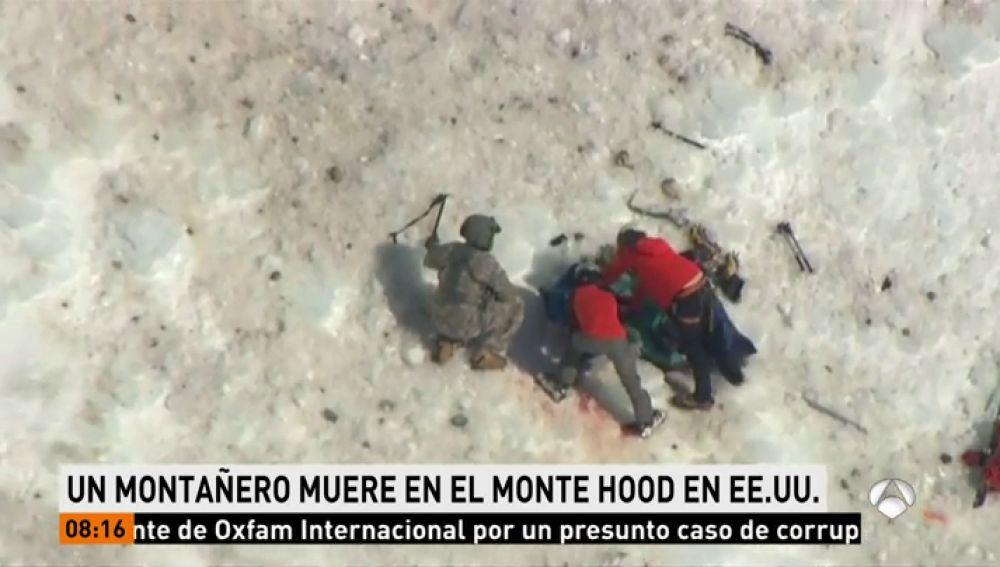 Muere un montañero tras practicarle un masaje cardiaco en pleno Monte Hood (Oregón)