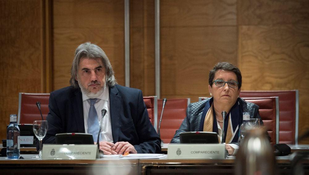 La presidenta de la Plataforma por las Garantías Ciudadanas, Inmaculada Sánchez Ruiz