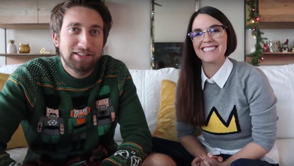 Los youtubers Megan Turney y Gavin Free