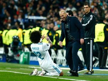 Marcelo dedica su gol a Zidane