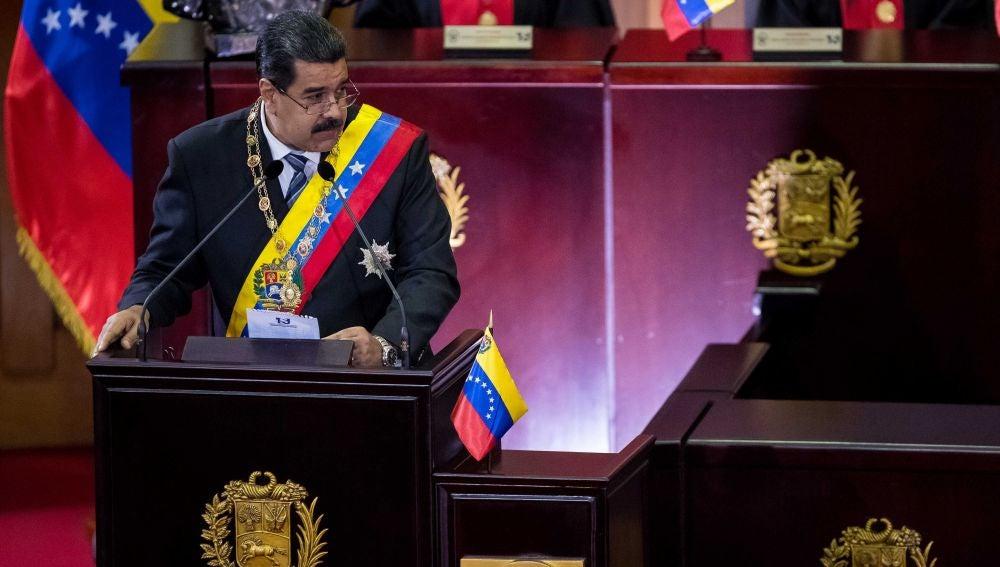 El presidente venezolano Nicolás Maduro