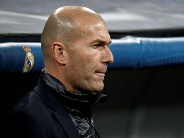 Zinedine Zidane, en un partido