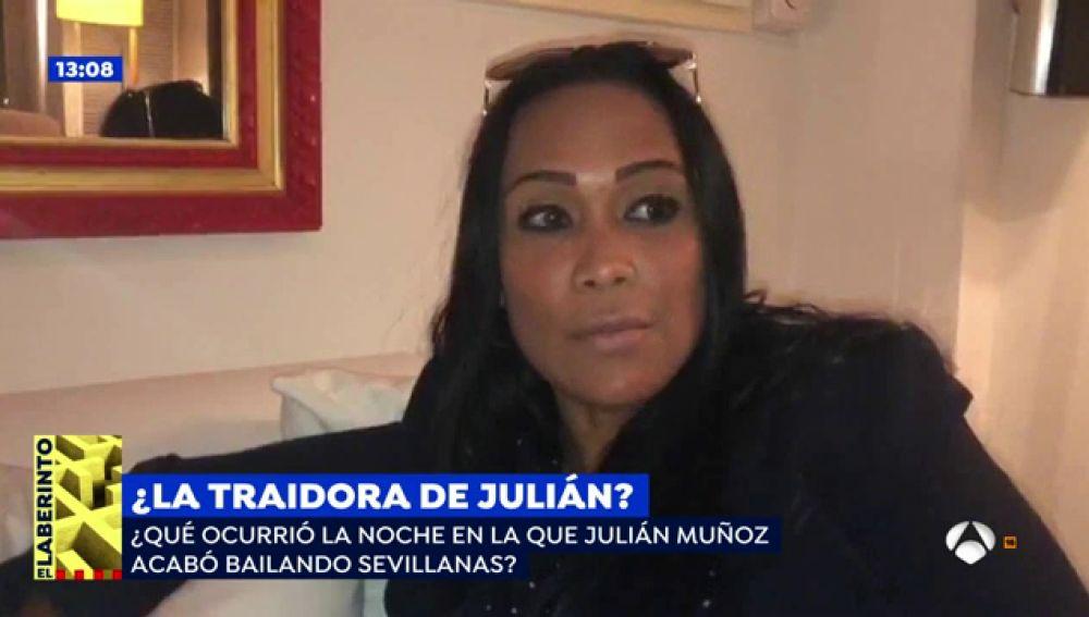 """Liz, la acusada de traicionar a Julián Muñoz sobre la grabación bailando sevillanas: """"Me siento indignada"""""""