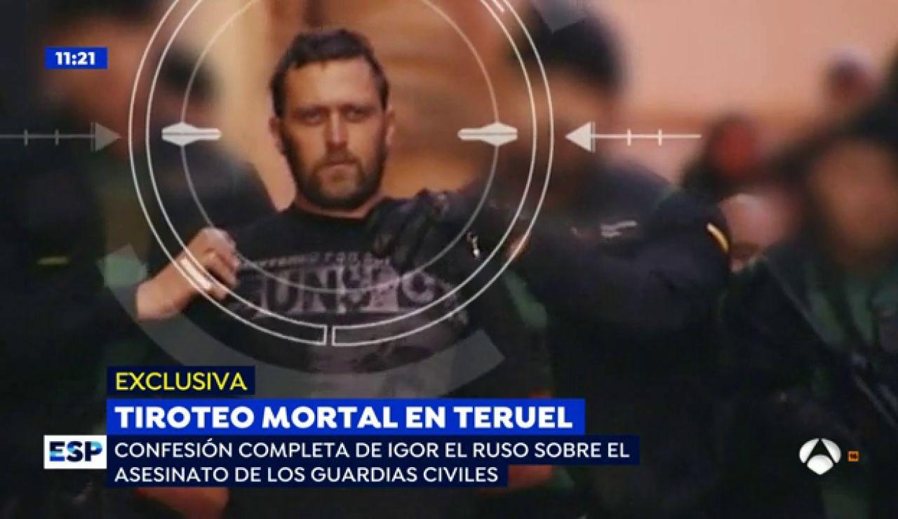 La confesión de 'Igor el Ruso' sobre el asesinato de los Guardias Civiles y el ganadero